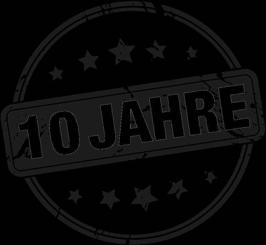 10 Jahre – Wir feiern mit Euch das Jubiläum
