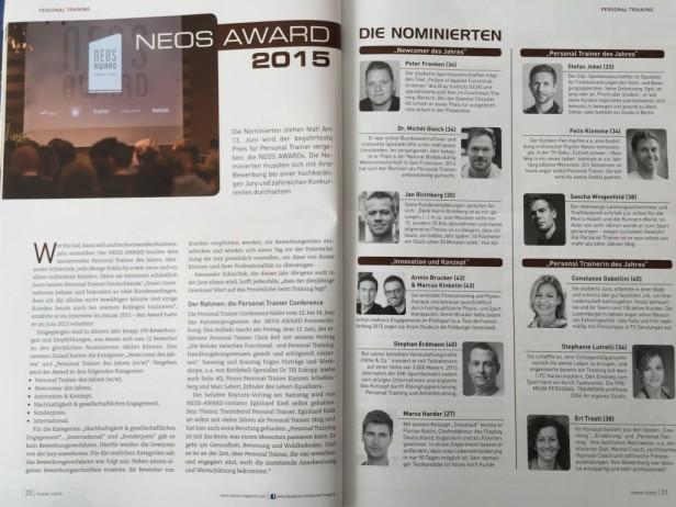 Trainer Neos Award