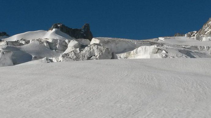 Höhenanpassung für Alpinisten Mont Blanc