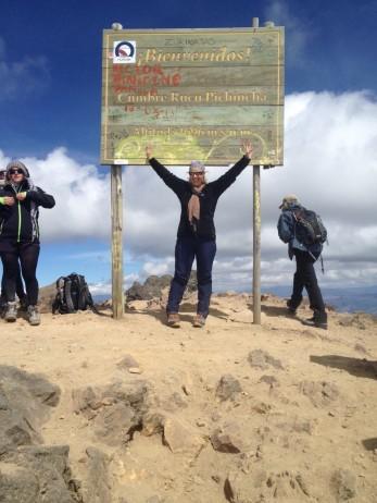 Ecuador - Cumbre Rucu Pichincha