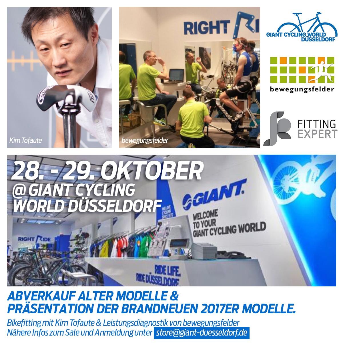 bewegungsfelder on Tour: Giant Düsseldorf